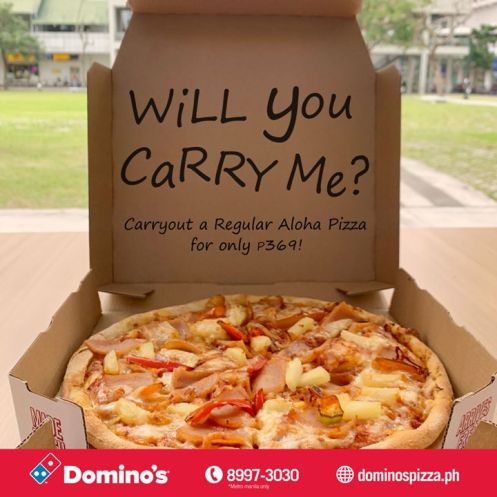 Domino S Pizza Regular Aloha Pizza For Only Php 369 Emm 15