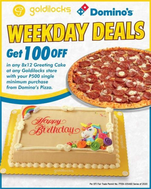 Special Goldilocks And Domino S Deal Emm 15
