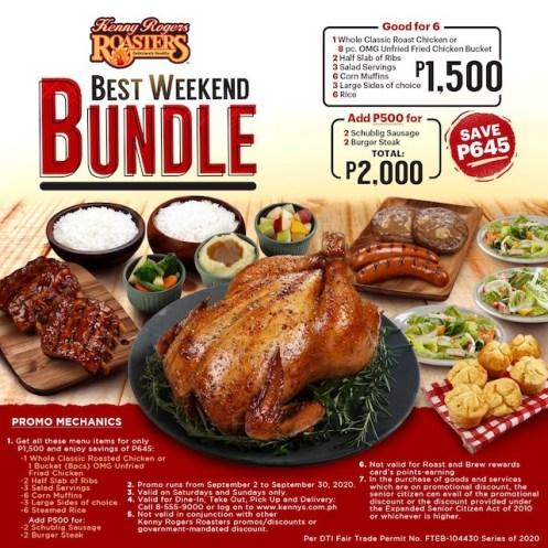 Best Weekend Bundle At Kenny Rogers Roasters Emm 15